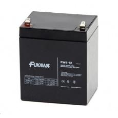 Baterie - FUKAWA FW 5-12 U (12V/5Ah - Faston 187),  životnost 5let