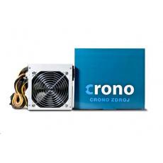 CRONO zdroj 400W, 12cm fan, 4x SATA, PPFC, Gen.2