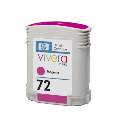 HP 72 Magenta DJ Ink Cart, 69 ml, C9399A
