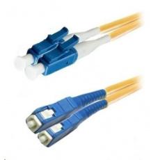 Duplexní patch kabel SM 9/125, OS2, LC-SC, LS0H, 2m
