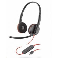 Poly náhlavní souprava BLACKWIRE 3220, USB-C, stereo