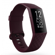 Fitbit Charge 4 (NFC) w integrated GPS & FitbitPay - Rosewood/Rosewood