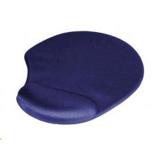 Hama ergonomická gélová podložka pod myš, modrá