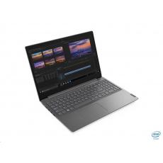 "LENOVO NTB V15-IML - i3-10110U,15.6"" FHD,8GB,256SSD,noDVD,HDMI,čt.pk,cam,Intel UHD,W10P,2r carryin,šedá"