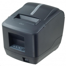 Birch CP-Q1 Pokladní tiskárna s řezačkou, USB+RS232+LAN, černá, tisk v českém jazyce