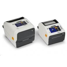 Zebra ZD621t Healthcare, 8 dots/mm (203 dpi), disp., RTC, USB, USB Host, RS232, BT (BLE), Ethernet, white
