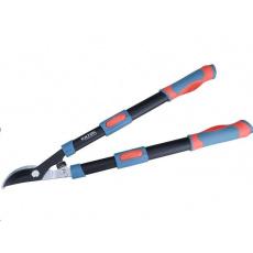 Extol Premium (8873106) nůžky na větve teleskopické dvousečné, 640-905mm, HCS