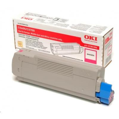 Oki Toner Magenta do C5600/C5700 (2 000 stránek)