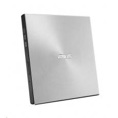 ASUS DVD Writer SDRW-08U7M-U SILVER RETAIL, External Slim DVD-RW, silver, USB