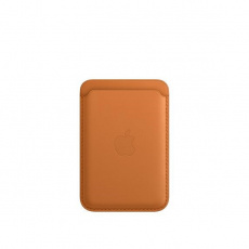 APPLE iPhone Leather Wallet with MagSafe - Golden Brown