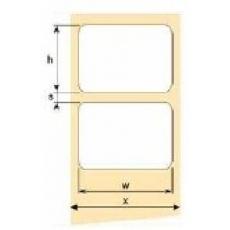OEM samolepící etikety 100mm x 50mm, bílý papír, cena za 1000 ks
