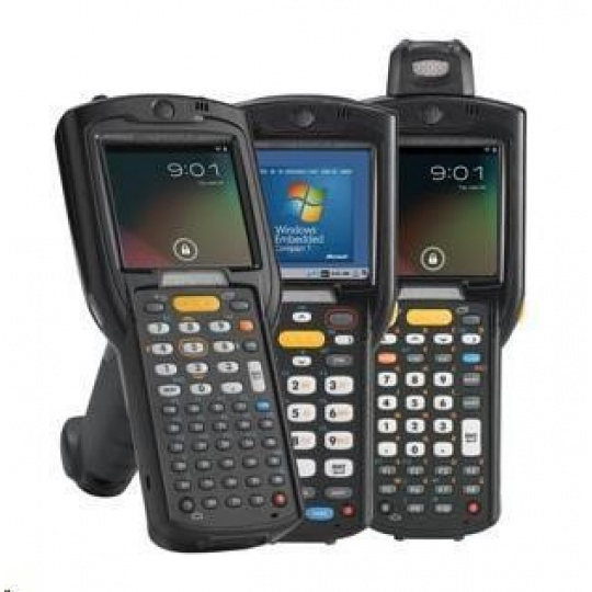 Motorola MC3200 GUN 802.11 a/b/g/n, BT, 1D, 38 Key, HC Battery, CE 7.x Pro, 512MB RAM/2GB ROM