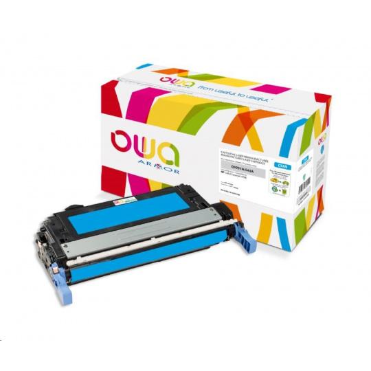 OWA Armor toner pro HP Color Laserjet 4700, 10000 Stran, Q5951A, modrá/cyan