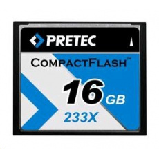 PRETEC CompactFlash Cheetah 233X card 16GB