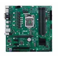 BAZAR ASUS MB Sc LGA1200 PRO B460M-C/CSM, Intel B460, 4xdDR4, VGA, mATX, (bez příslušenství)