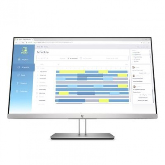 HP LCD ED E273d Docking Monitor 27, 1920x1080, IPS w/LED, 250 cd/m2,1000:1, 5ms,VGA,DP 1.2 out,HDMI, 4xUSB3,USB-C,webcam