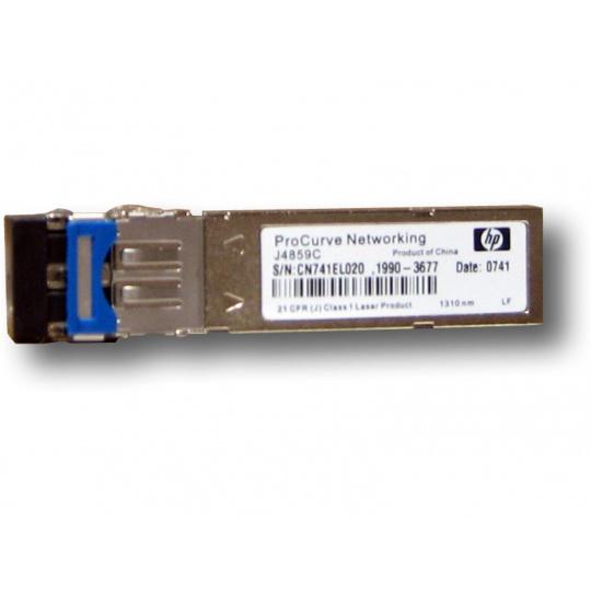 SFP transceiver 1,25Gbps 1000BASE-LX SM 20k 1310nm (FP) LC duplex 0-70°C 3,3V DMI diagnostika HP kompat J4859D