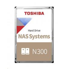 "TOSHIBA HDD N300 NAS 4TB, SATA III, 7200 rpm, 128MB cache, 3,5"", BULK"