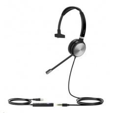 Yealink UH36MONO náhlavní souprava na jedno ucho, konektory 3.5mm jack - USB