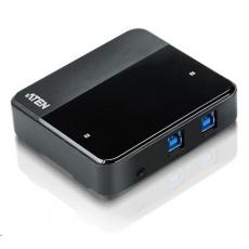 ATEN USB 3.0 Přepínač periferií 2:4 US234