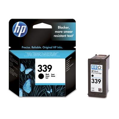 HP 339 Black Ink Cart, 21 ml, C8767EE