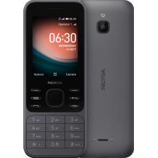Nokia 6300 4G (2021), Dual SIM, šedo-černá