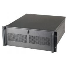 CHIEFTEC skříň Rackmount 4U ATX, UNC-410B-80R, 2x800W, Black