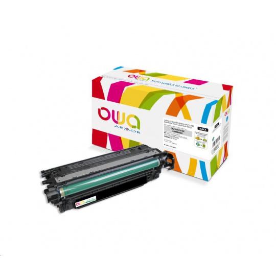 OWA Armor toner pro HP Color Laserjet CP3525, 10500 Stran, CE250X, černá/black