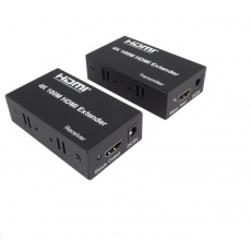 PremiumCord 4K HDMI extender na 100m přes jeden kabel Cat5e/Cat6