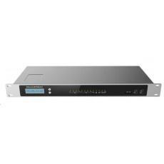 Grandstream UCM6304 [IP PBX - IP pobočková ústředna, 4xFXO, 4xFXS, 3xRJ-45, 2x USB, SD-card, PoE+]
