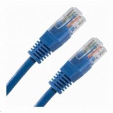 Patch kabel Cat5E, UTP - 5m, modrý